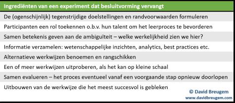 organisatieperformance-experimenterend-werken-besluitvorming